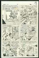 Fantastic Four #46, page 19 Comic Art