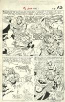 Fantastic Four Annual #3, page 22 Comic Art