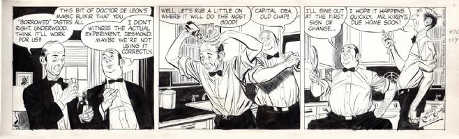 Rip Kirby (24 September 1956) Comic Art