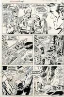 Captain America #105, page 8 Comic Art