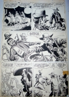 Western Outlaws #19 ( Outlaw in Hiding! ), page 2 (Joe Maneely) Comic Art