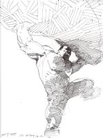 Hulk -  Esad Ribic Comic Art