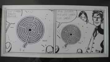Hugo Pratt - strip from Mu Comic Art