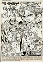 amazing spider-man 99 Splash Comic Art