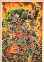 Miracleman Eclipse Promo Art - Brad Gorby Comic Art