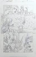 Birds of Prey #32 pg.16 Comic Art