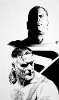 Alex Ross - Superman Comic Art