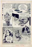 Al Williamson - Creepy #5  Sand Doom  p2 (1965) Comic Art