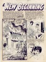 Al Williamson Weird Science #22 (1953)  A New Beginning  Splash Comic Art