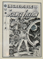 Wally Wood Incredible Science-Fiction #33 EC Cover (1955) Comic Art