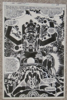 Jack Kirby GALACTUS - Silver Surfer GN (1978) Comic Art