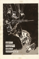 Jorge Zaffino Punisher Comic Art