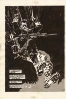 Jorge Zaffino Punisher Comic Art