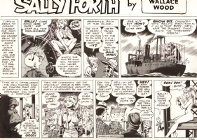 Sally Forth Comic Art