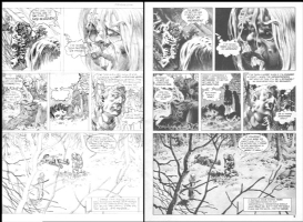 Berni WRIGHTSON, Creepy #63,  Jenifer  page 3 prelim Comic Art