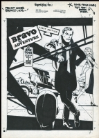 Alex TOTH; Bravo for Adventure cover Comic Art