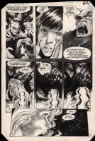 Stephen Bissette, Saga of the Swamp Thing #27, page 17 Comic Art