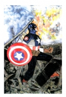 ULTIMATE CAPTAIN AMERICA, Comic Art