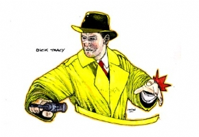 DICK TRACY, Comic Art