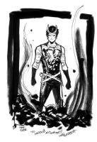 Lee Garbett - Loki, Comic Art