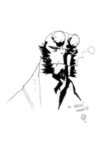 Max Fiumara - Hellboy, Comic Art