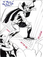 Steve Rude - Mister Miracle, Comic Art