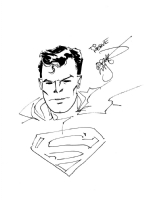 Erik Larsen - Superman, Comic Art