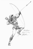 Mike Grell - Green Arrow, Comic Art