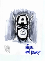 Tom Palmer - Captain America, Comic Art