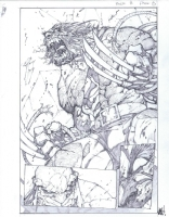 Madureira, Joe - Savage Wolverine # 8 Page 8 Comic Art