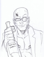 Spider Jerusalem by Matt Zolman Comic Art