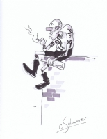 Spider Jerusalem by Chris Schwiezer Comic Art