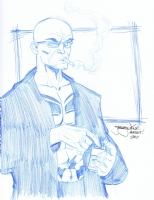 Spider Jerusalem by Jeremy Dale Comic Art