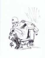 Spider Jerusalem by Kevin Colden Comic Art