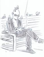 Spider Jerusalem by Mike Maihack Comic Art