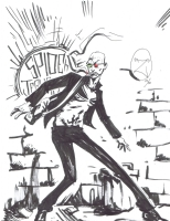 Spider Jerusalem by Zees (Jay Moreno) Comic Art