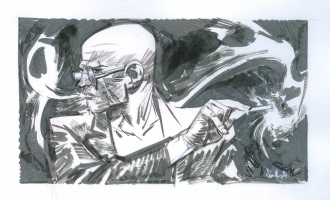 Spider Jerusalem by Sean Gordon Murphy Comic Art