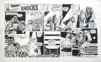 THARG'S FUTURE SHOCKS The Big Day Comic Art