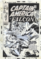 Captain America & the Falcon Comic Art