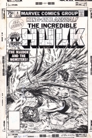Hulk Annual 8 cover Al Milgrom 1979 Comic Art