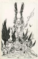 The Darkness issue 3 Cover  Marc Silvestri , Matt Banning 1997 Comic Art