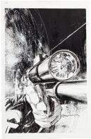Ultimate Marvel Team-Up 6 Cover - Bill Sienkiewicz Comic Art