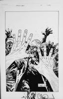 Walking Dead 51 Cover - Charlie Adlard Comic Art
