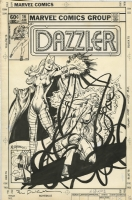 Dazzler 16 cover, Bill Sienkiewicz, 1982  Comic Art