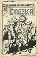 Dazzler 16 cover, Bill Sienkiewicz, 1982 , Comic Art