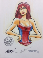 Mary Jane Watson by Humberto Ramos Comic Art