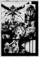 Thunderbolts 26 pg 4 by Leonardo Manco Comic Art