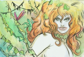 Poison Ivy by Tommy Castillo Comic Art