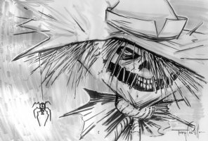 The Scarecrow by Tommy Castillo Comic Art
