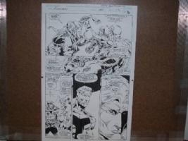 Avengers #383 Page #12 Comic Art